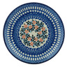 "Polish Pottery Plate 8"" Lovely Sequence UNIKAT"