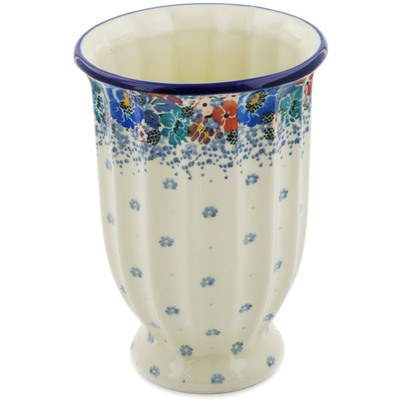 "Polish Pottery Vase 7"" Autumn Bunch UNIKAT"